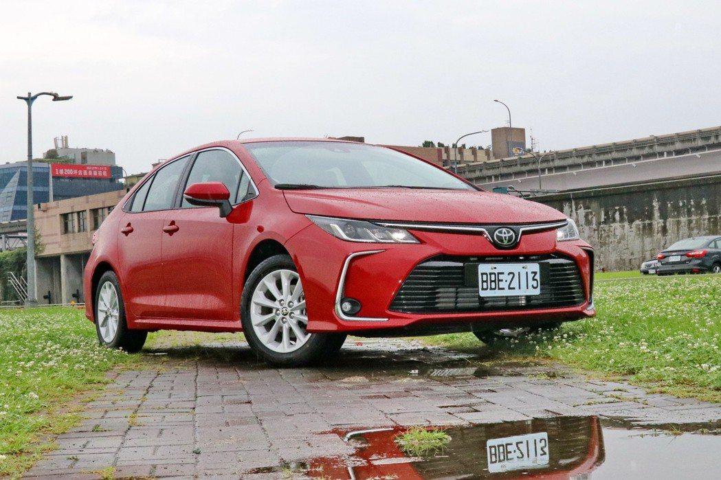 第十二代TOYOTA Corolla Altis在七月份繳出單月破四千輛台的耀眼...
