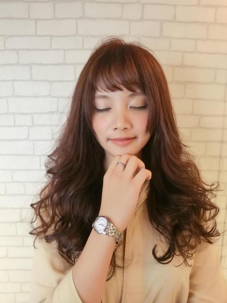 髮型創作/上越國際髮型新埔店 / Mifi 米菲。圖/StyleMap提供