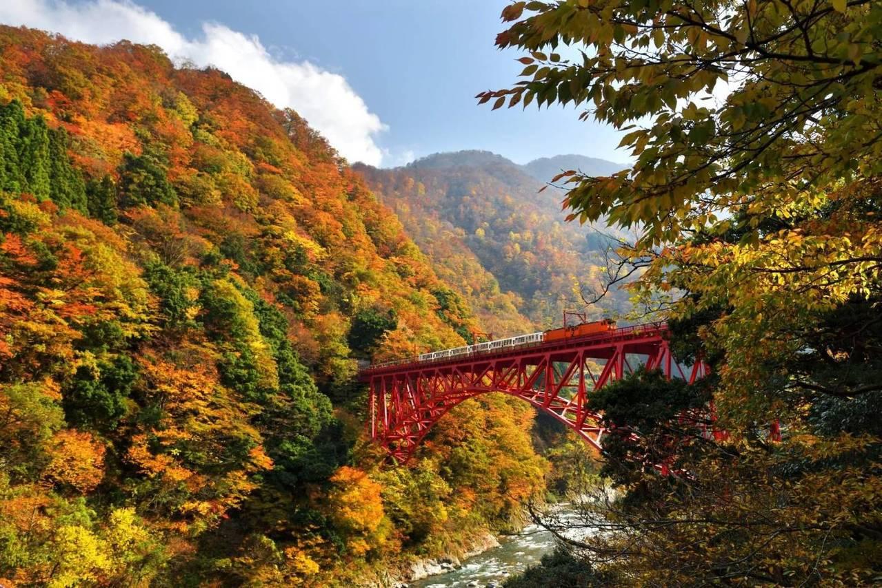 阿里山林鐵跨國互惠再與日本黑部峽谷鐵道換票。圖/阿里山林鐵文資處提供