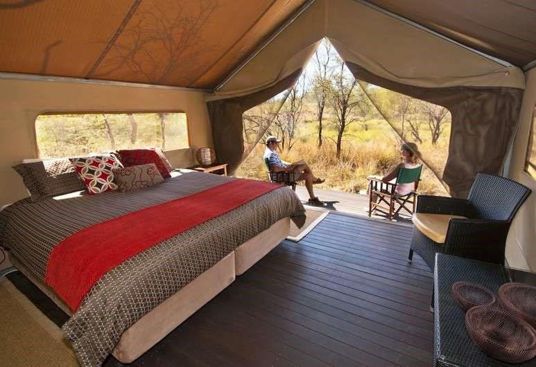 澳洲波奴魯魯的邦哥曠野小屋,在國家公園内也能露營。圖/Hotels.com提供