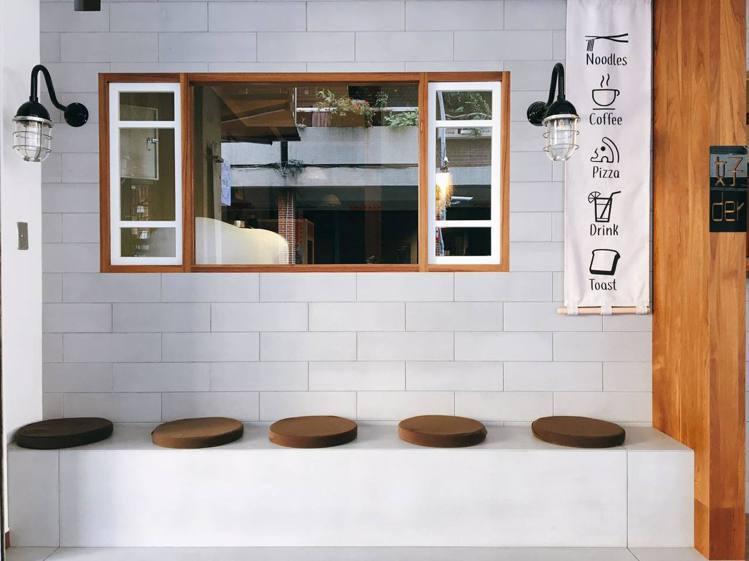 「好der」貼心設置拍照區讓客人與朋友拍照。圖/好der提供