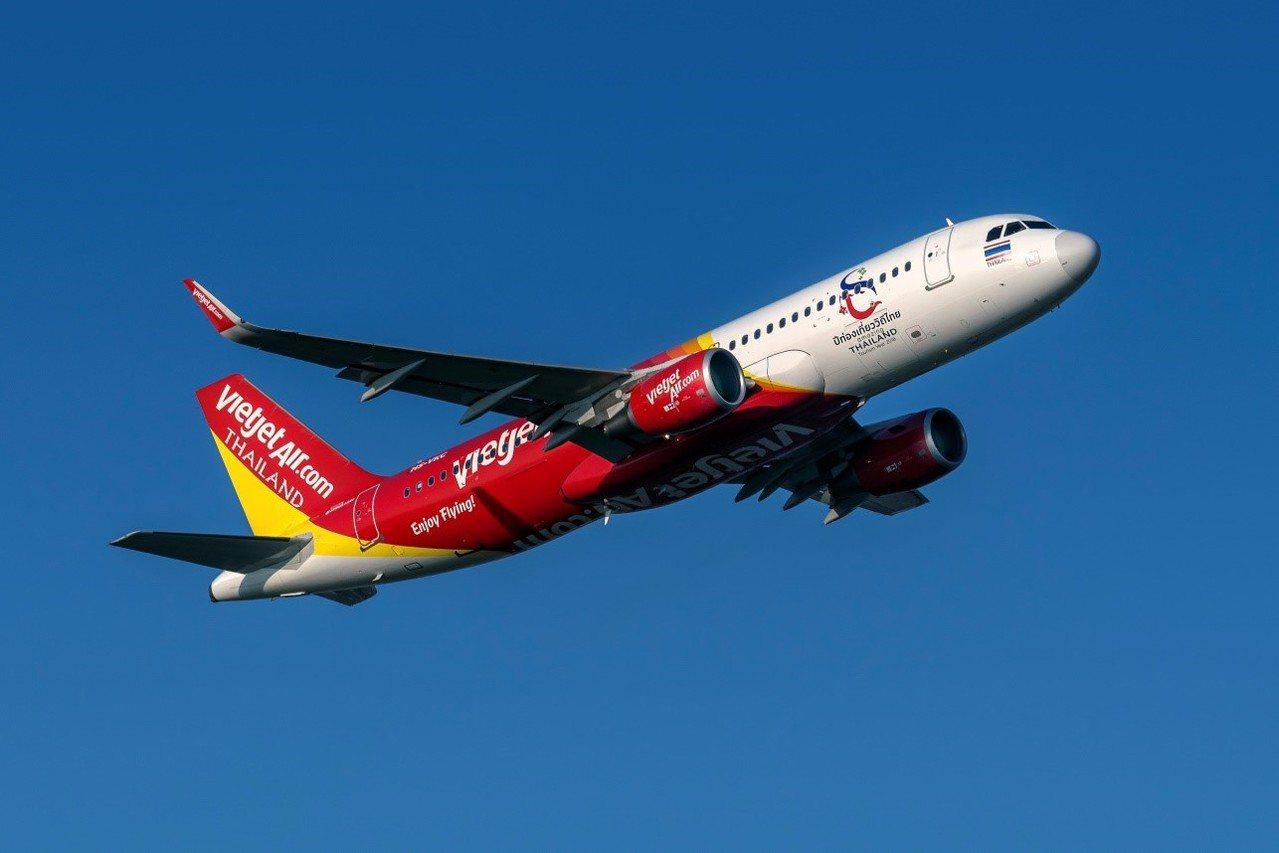 自今年6月20日起泰越捷增班台中-曼谷天天飛,單程只要285元起。 圖/越捷航空...