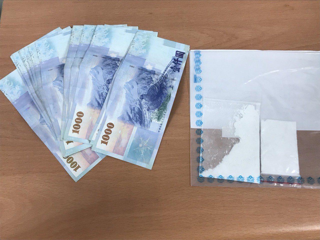 嫌犯搶走泰女28萬元,被逮後僅剩2萬元。記者巫鴻瑋/翻攝