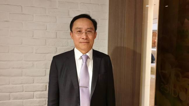 永大新任董事長許作名說,專業經理人治理成新王道。黃淑惠攝
