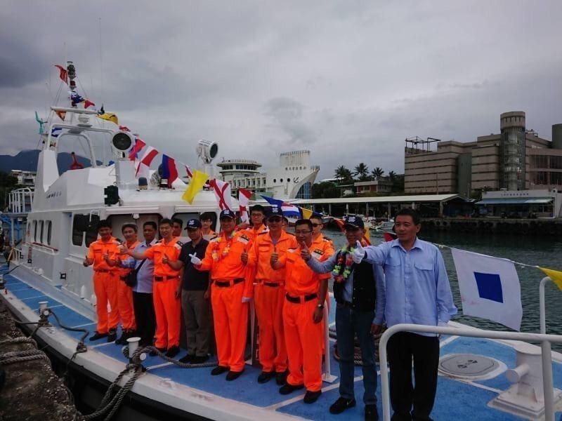 台東海巡隊唯二兩艘50頓級「PP-5023」與「PP-5026」艦艇今天舉行除役...