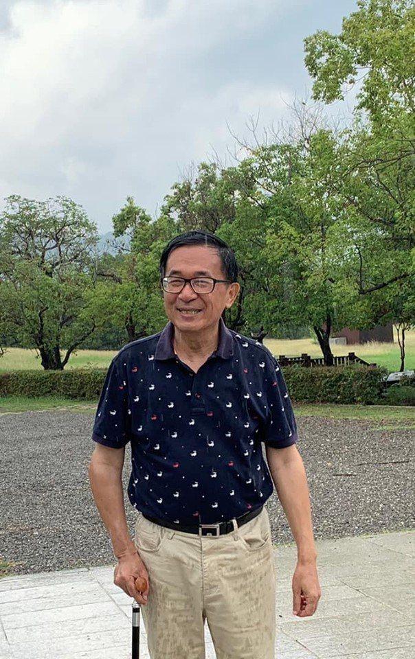 前總統陳水扁。圖/取自新勇哥物語臉書。