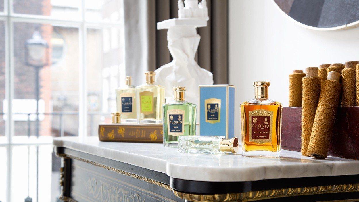 FLORIS LONDON是英國最古老、世界上第二古老的香水品牌。圖/FLORI...