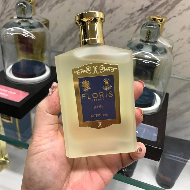 FLORIS LONDON「No.89」同系列還有舒緩鬍後水、保濕沐浴露與紳士理...