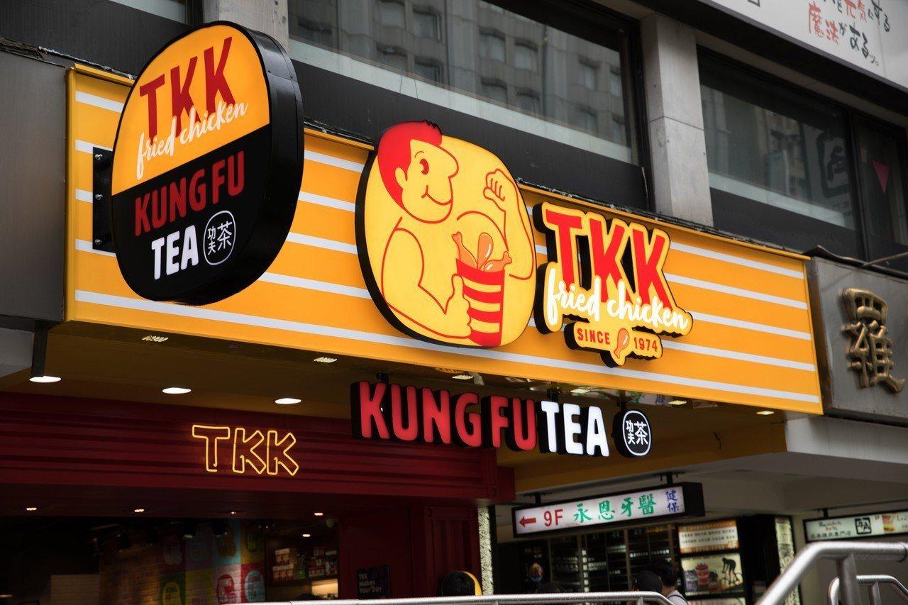 頂呱呱x功夫茶全台首間複合概念店。圖/頂呱呱提供
