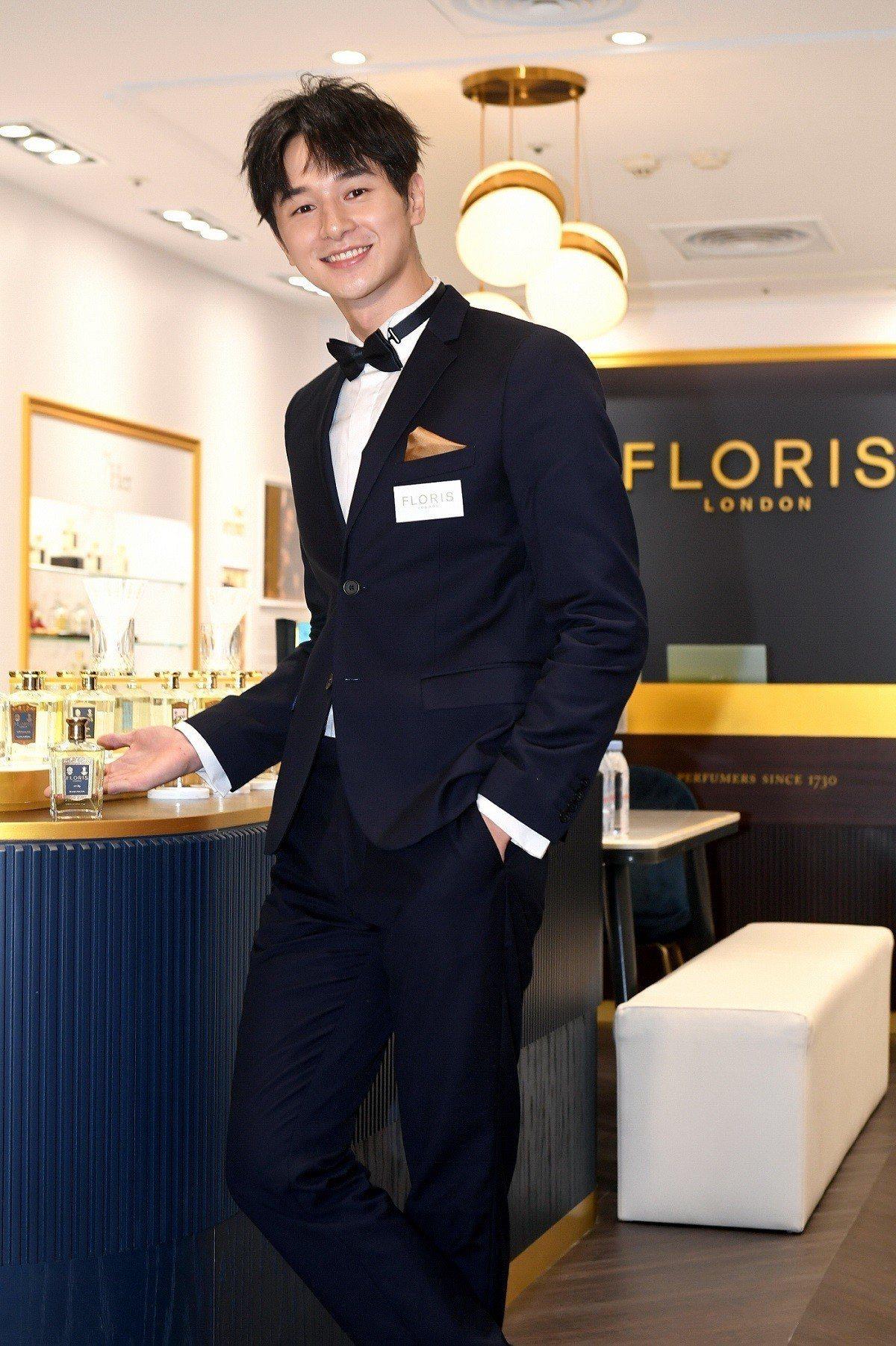 FLORIS LONDON亞洲首發形象旗艦店開幕,邀請張軒睿化身英倫王子,暢聊最...