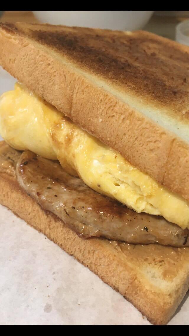 店內的三明治酥脆噴香。圖/小確幸三明治合作社 提供