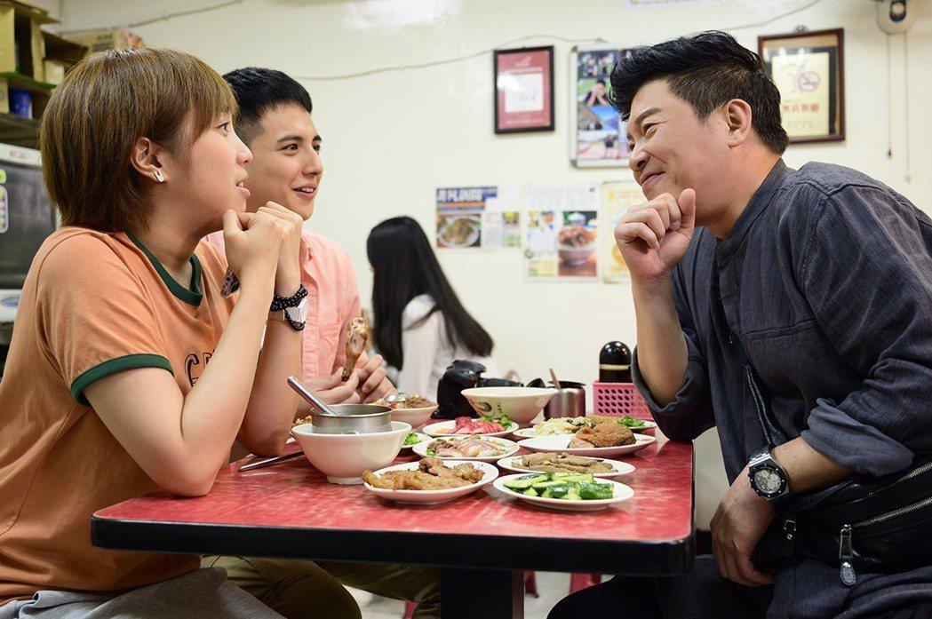 曾國城在「女力報到」裡客串演出。圖/TVBS提供