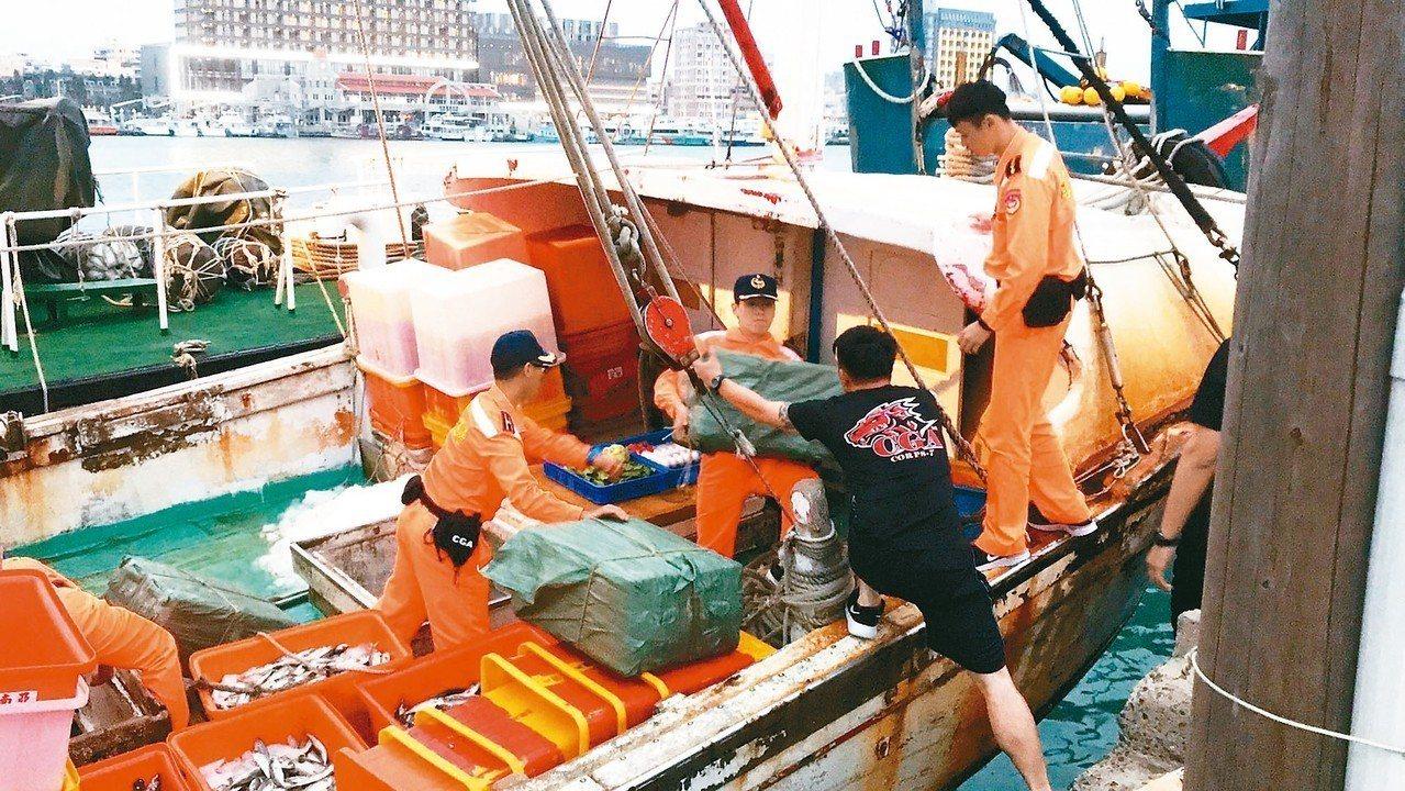 海巡、移民等特考八月登場,海巡人員錄取分發後,常要查緝走私。 圖/聯合報系資料照...