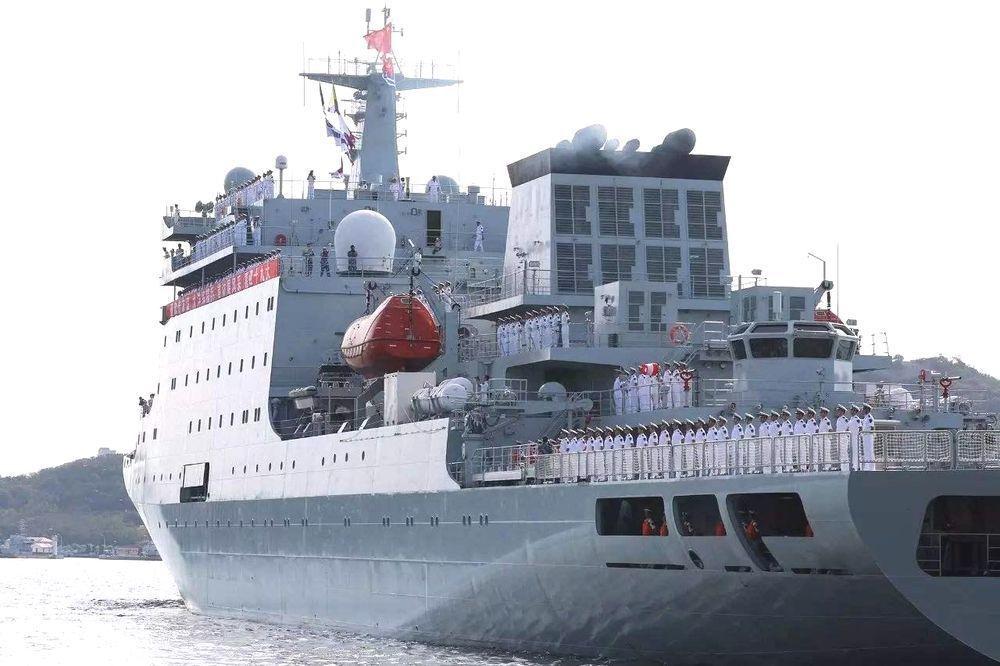 戚繼光號訓練艦資料照片。(鳳凰網)