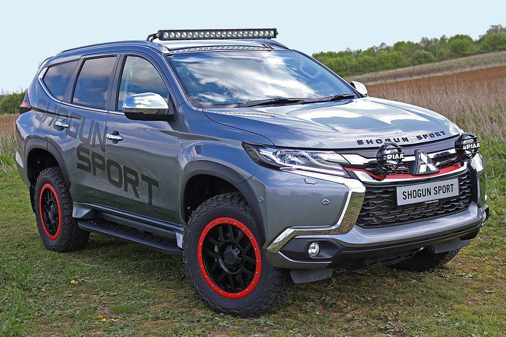 三菱汽車決定Shogun Sport SVP Concept最快在夏季量產問世,...