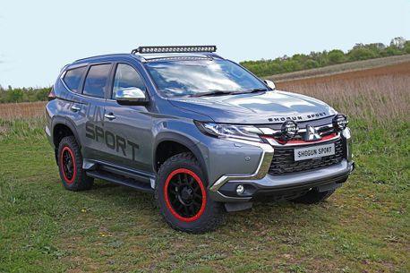 三菱目前最硬派的越野車就是它!英國Pajero Sport SVP特仕車夏季量產