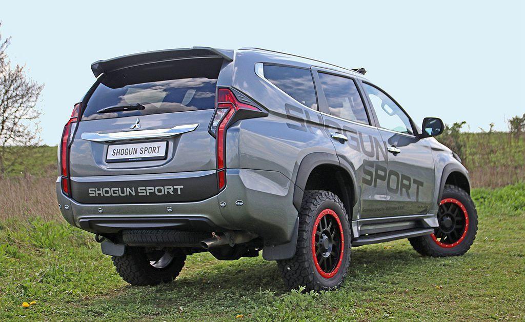 英國的伯明翰商用車展開幕,三菱汽車推出Shogun Sport SVP Conc...