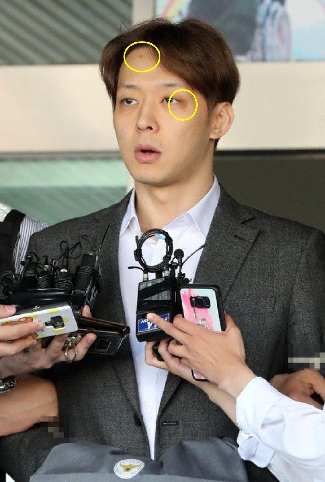 朴有天1日首度道歉。圖/摘自news1