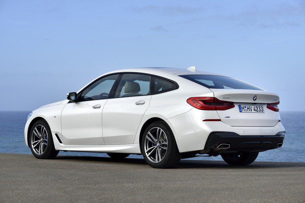目前BMW 6 Series車型中僅有6GT (G32)。 摘自BMW