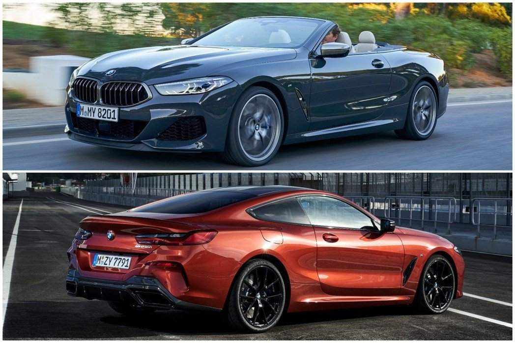 全新第二代BMW 8 Series Coupe (G15) 與全新BMW 8 S...