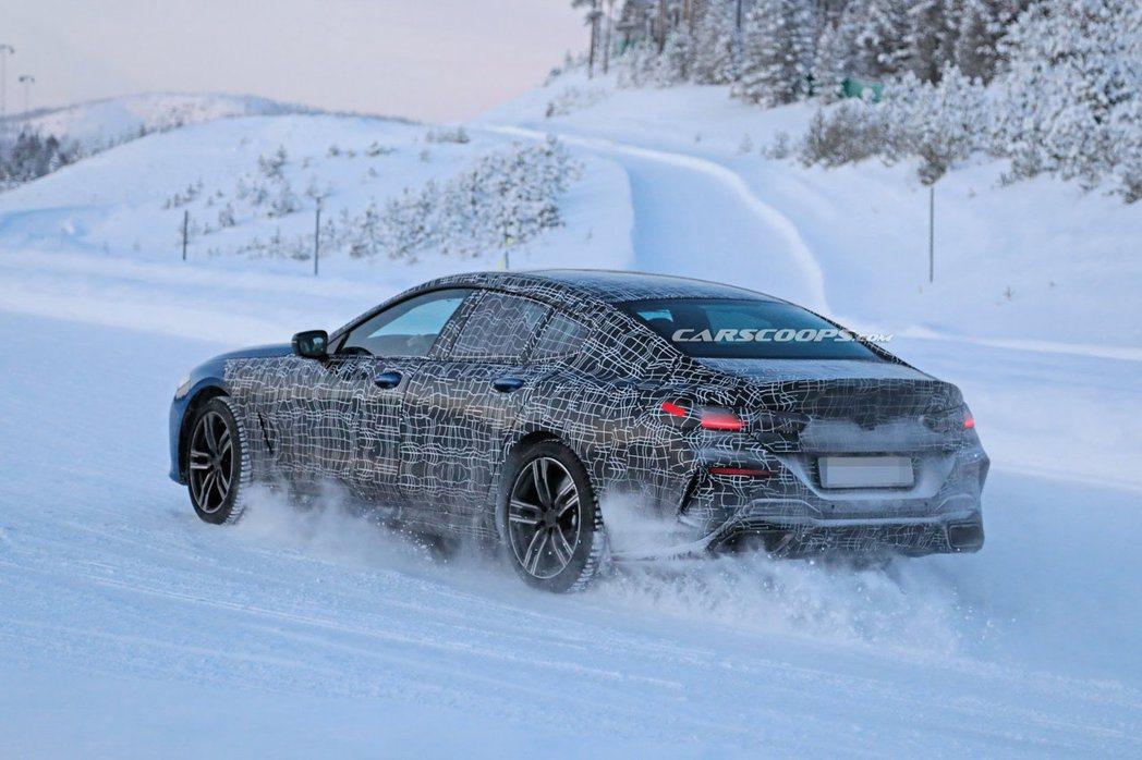 全新BMW 8 Series Gran Coupe在外觀造型的部分,基本上仍延續...