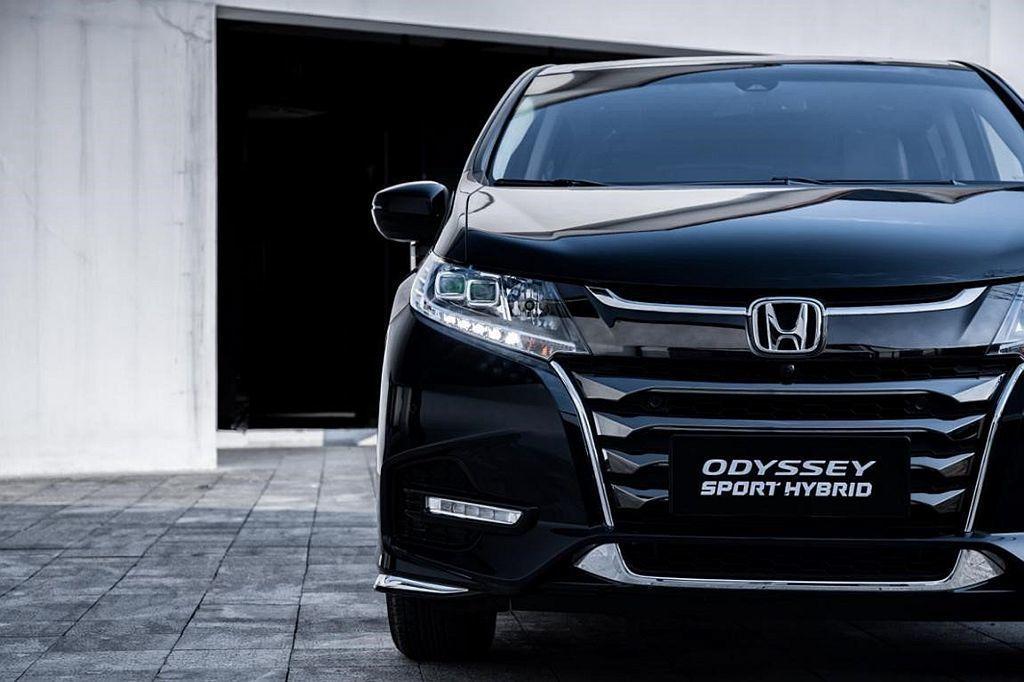 Honda Odyssey Hybrid不僅首度導入中國,也成為當地首款油電複合...