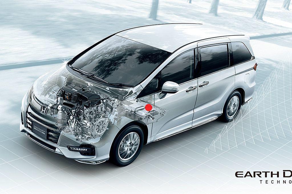 Honda Sport Hybrid i-MMD複合動力系統,以2.0L Atk...