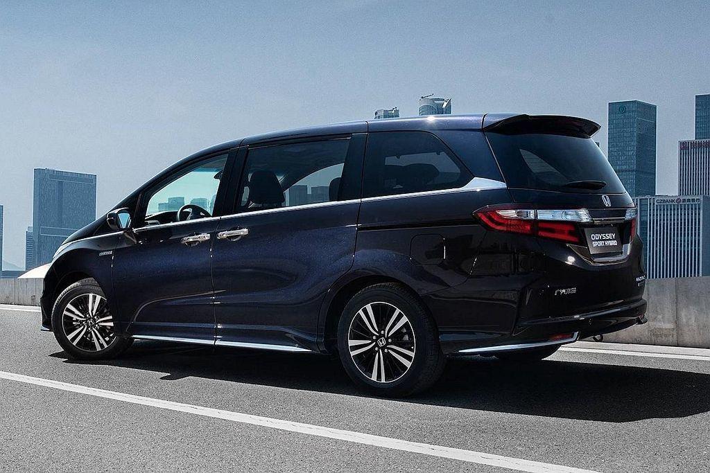 Honda Odyssey Hybrid在中國工業和信息化部油耗測試下,擁有17...