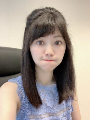 民進黨台北市議員高嘉瑜以可愛翻白眼聞名。圖/取自高嘉瑜臉書