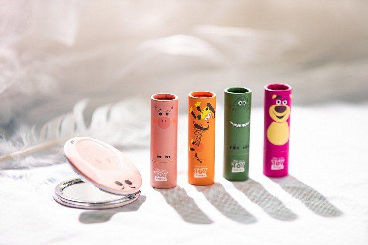 FreshO2玩具總動員系列無重力絲襪唇膏,定價699元、FreshO2官網售價...