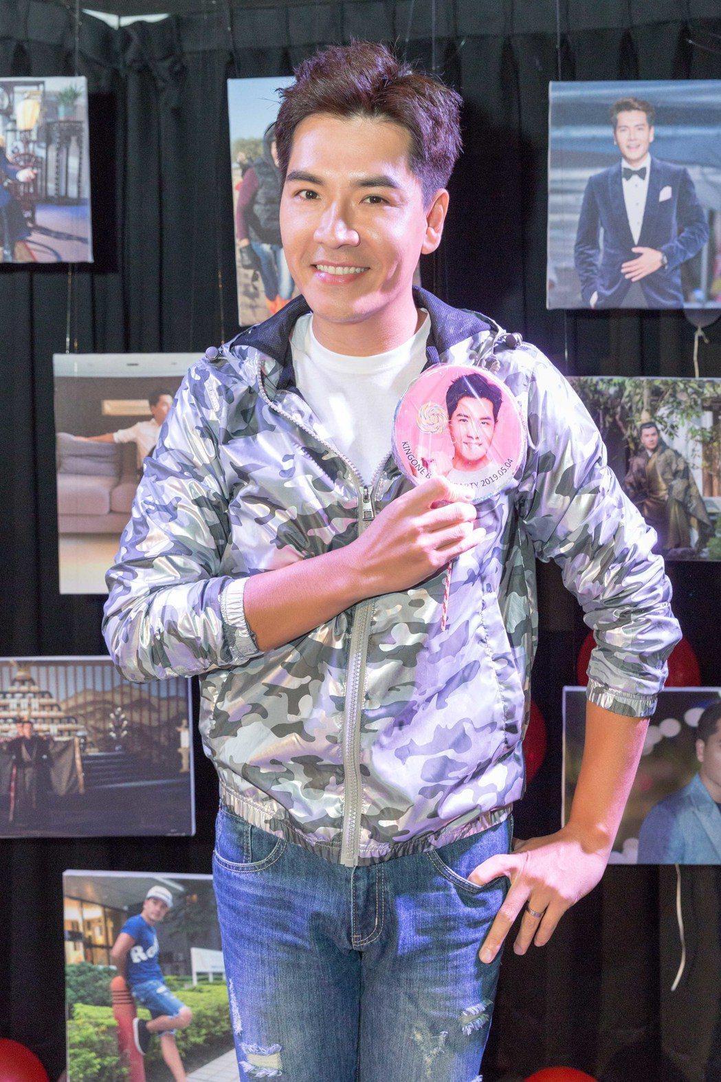 王傳一為見粉絲,還積極瘦身5公斤,當爸的他恢復男神姿態。圖/嚞娛樂提供