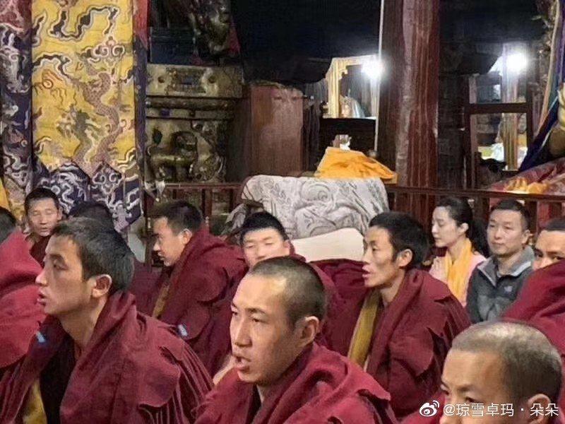 范冰冰現身西藏。圖/摘自微博
