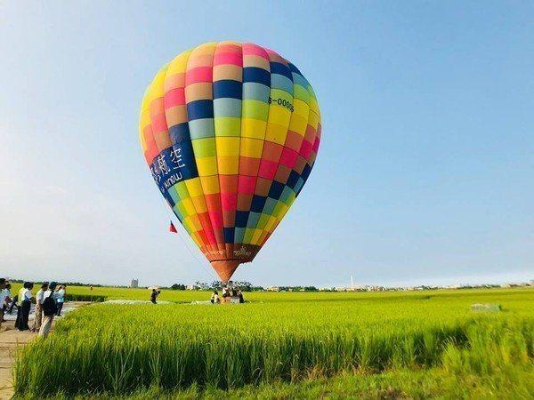 宜蘭版伯朗大道今年在6月8日起舉辦熱氣球嘉年華活動。圖/摘自幸福冬山臉書專頁
