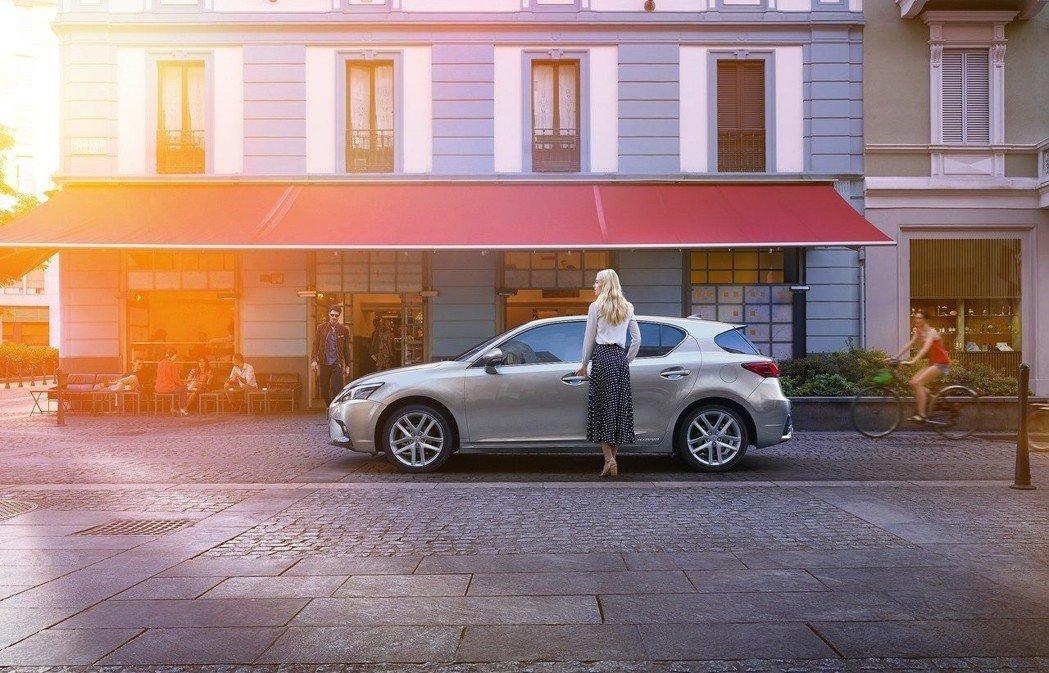 至於車身尺寸的部分,CT繼任車款尺寸將會比UX略小。 摘自Lexus