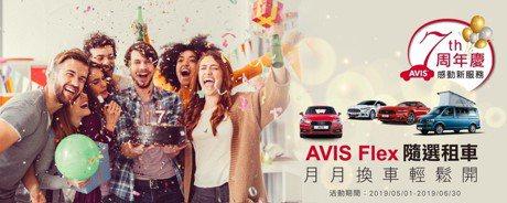 月月換車輕鬆開 AVIS安維斯租車推「AVIS Flex 隨選租車」