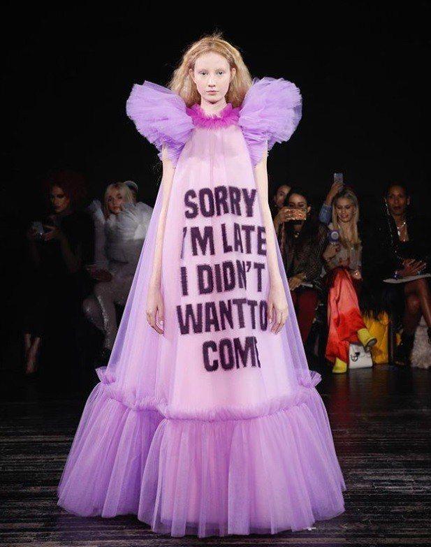 Viktor & Rolf的標語禮服也會是今年「坎普:時尚筆記」展覽展品之一。圖...