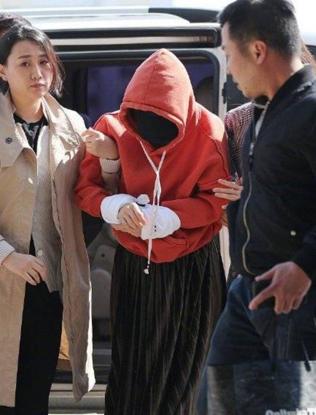 黃荷娜已經被補。圖/摘自Naver