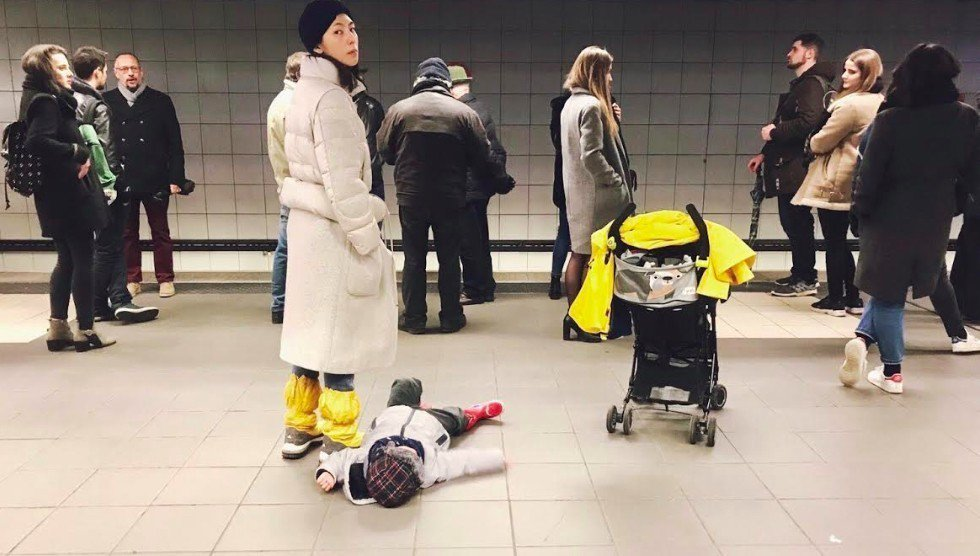 林辰唏帶兒子前進德國、法國遊玩。圖/展奕娛樂提供