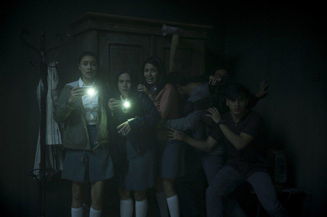 「鬼入鏡:靈之鬼跡」劇照。圖/水元素提供