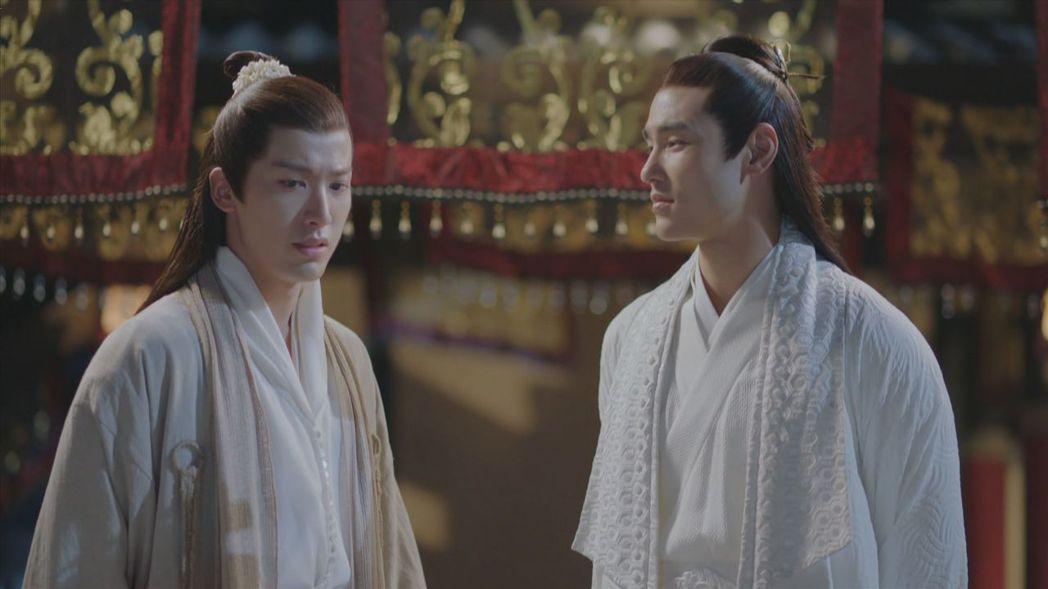 賴藝(左)、阮經天因合作「扶搖」,培養出好交情。圖/中視提供