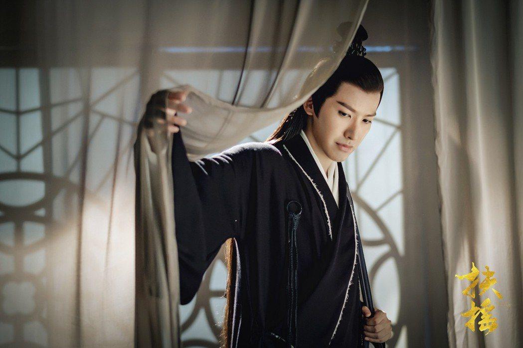 賴藝在「扶搖」劇中飾演醫聖。圖/中視提供