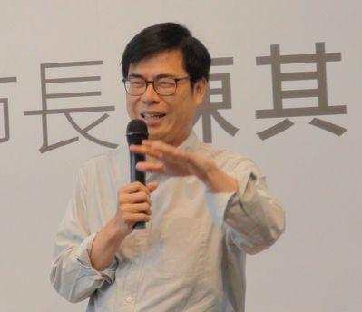 高雄市長韓國瑜昨直播說明自經區,行政院副院長陳其邁(圖)指出,當一個市長要很熟悉...