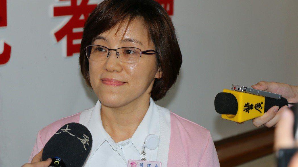 研發N天使的北榮護理長劉淑言。  圖/北榮提供