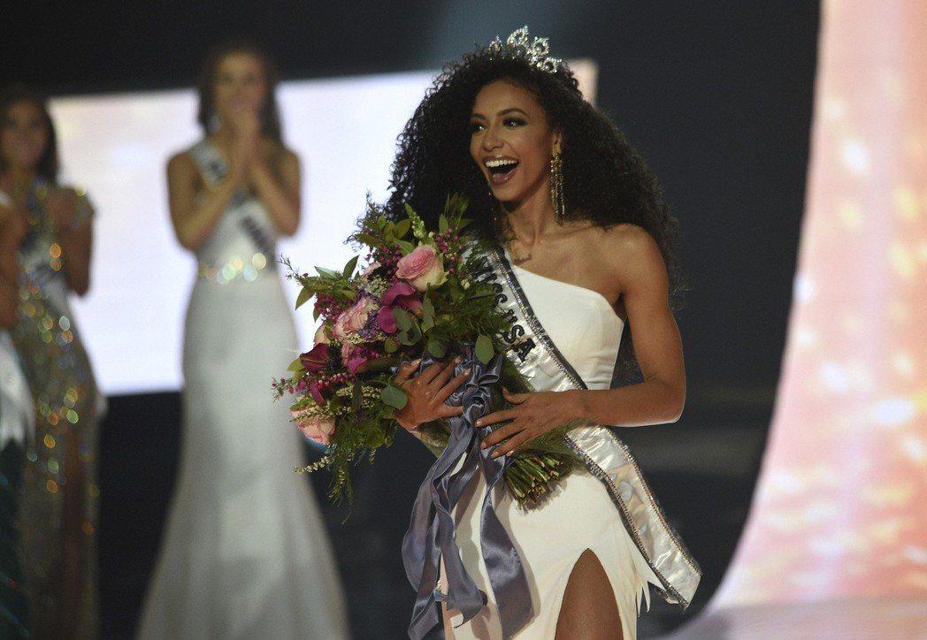 克莉斯特贏得今年美國小姐選美比賽冠軍。(美聯社)