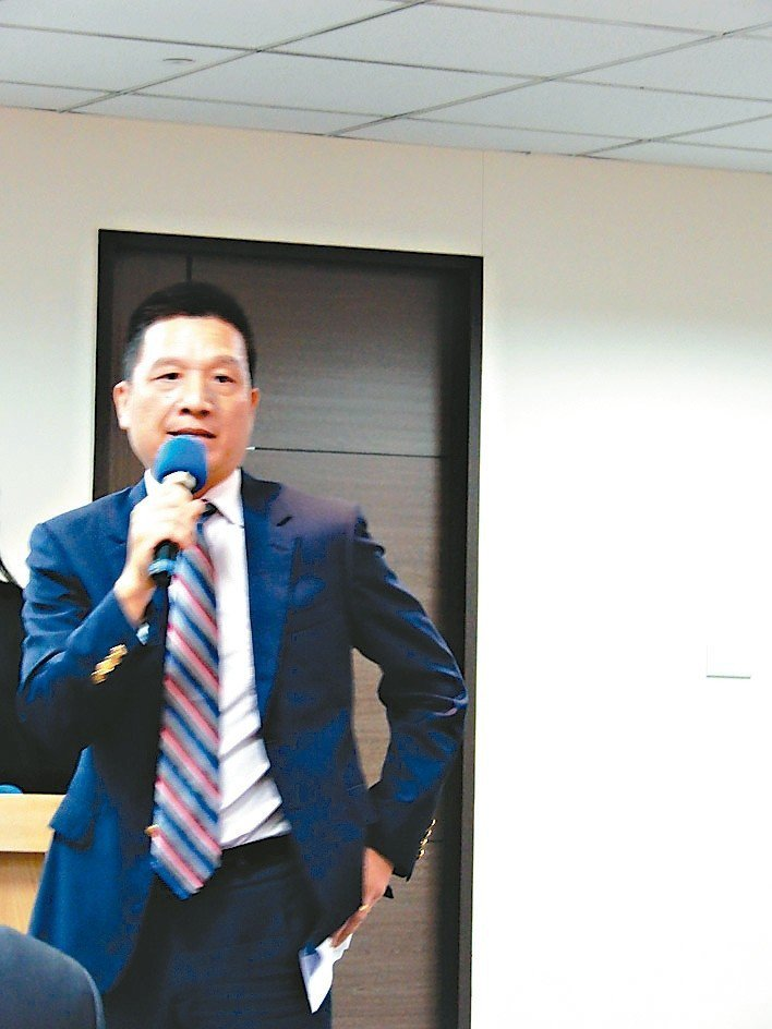 成亞資源董事長陳皇志。 翁永全/攝影