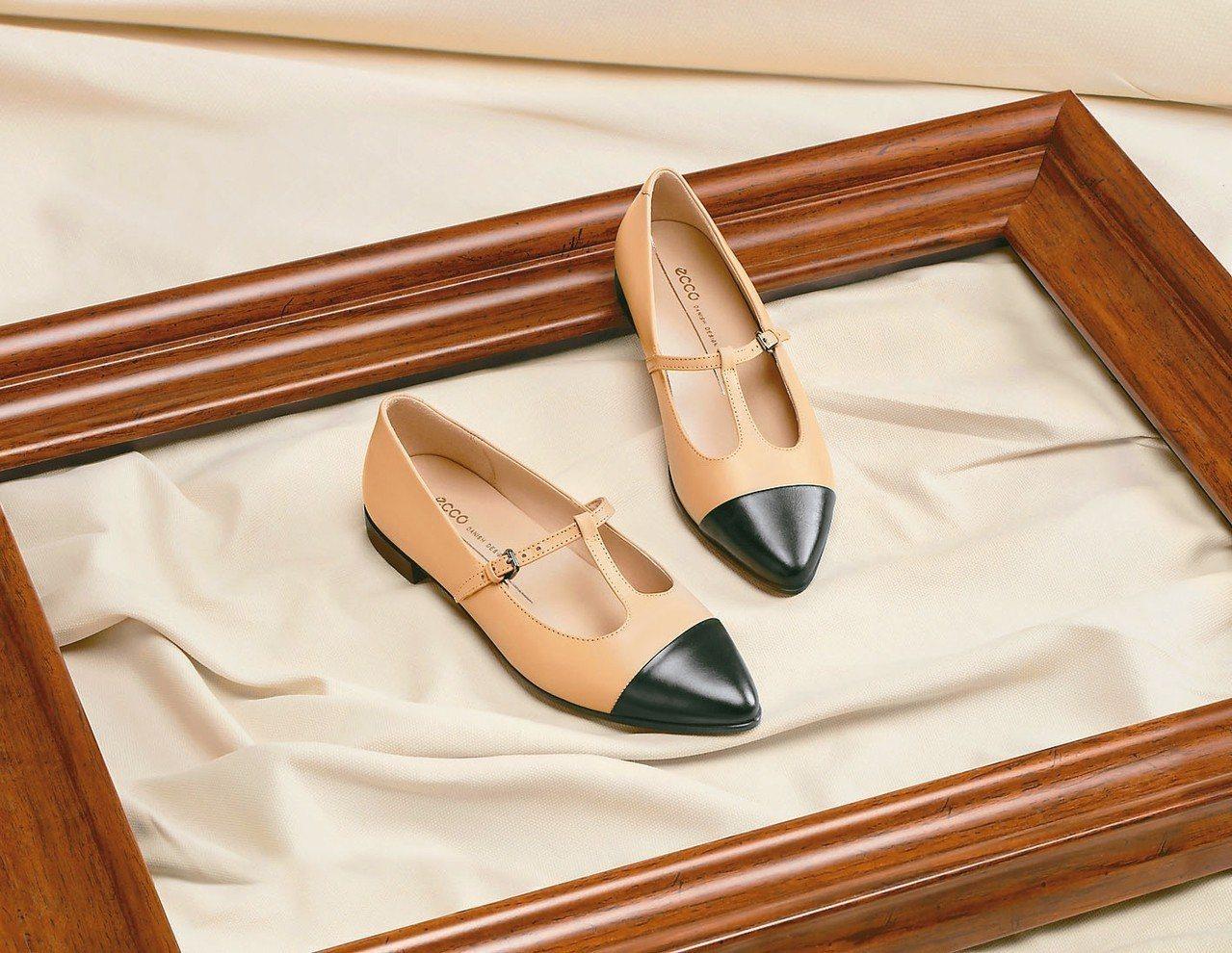 ECCO初夏推出SHAPE型塑系列女鞋。 圖/ECCO提供