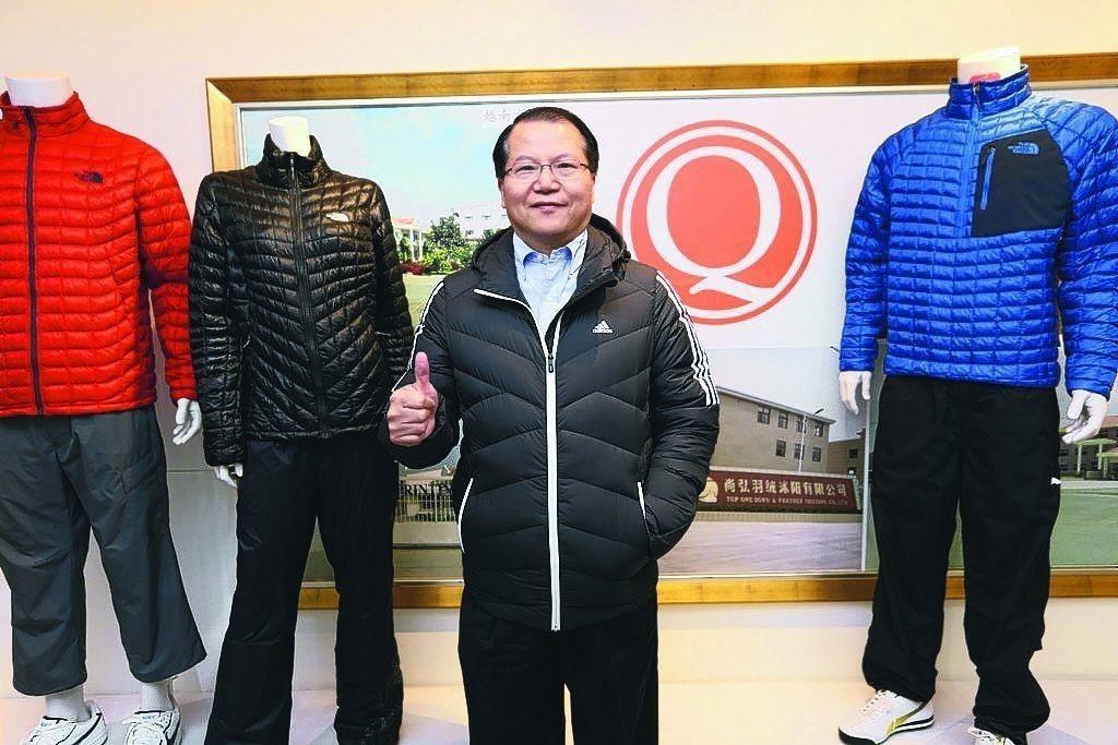 廣越企業總經理吳朝筆。圖/聯合報系資料照片
