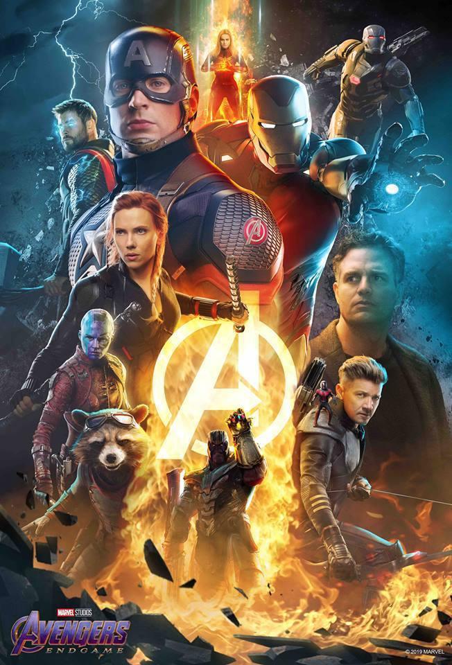 「復仇者聯盟4:終局之戰」全球票房逼近22億美元。 圖/摘自漫威臉書