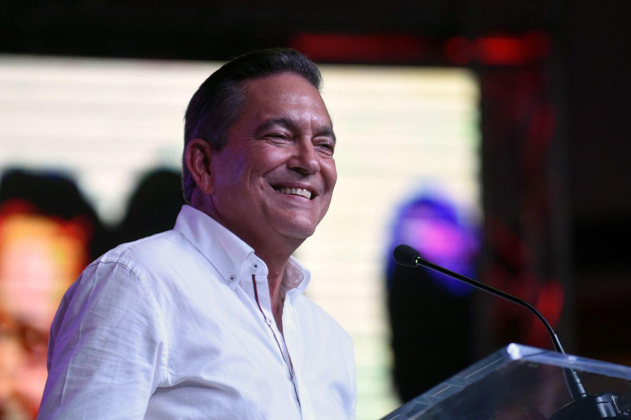 巴拿馬總統當選人柯狄索(Laurentio Cortizo)。 法新社