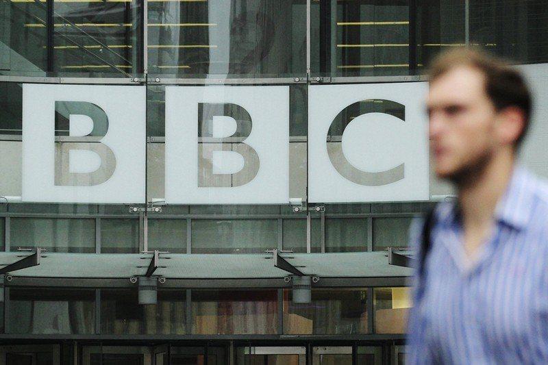 圖為英國公共媒體BBC。 圖/路透社
